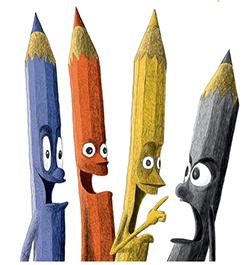 העיפרון השחור
